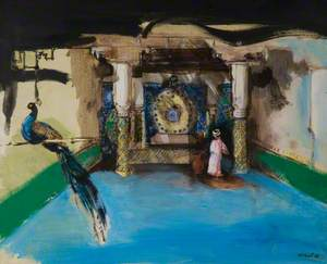 Arab Courtyard, Fez