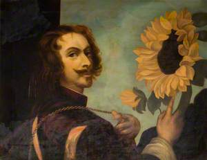 Man with a Sunflower