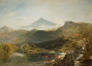 Ben Nevis and Mountain Stream