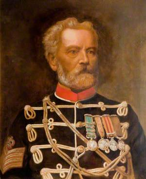 Sergeant Major William Purvis, Survivor of the Charge of the Light Brigade