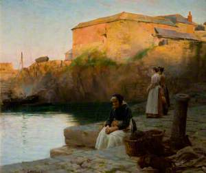 Evening at Coverack, Cornwall