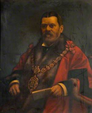 Alderman Issac Griffiths, JP, Wednesbury Corporation Mayor (1908–1909)