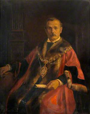 Alderman Iaian Oldbury, JP, Mayor (1896–1898 & 1902–1905)
