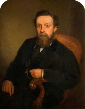 George Collins, Chairman of Smethwick Library