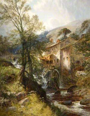 Watermill, near Lynton, Devon