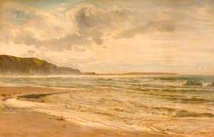 Grey Morning on the Beach