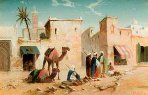 Arabian Village Scene