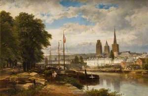 River Scene, Rouen
