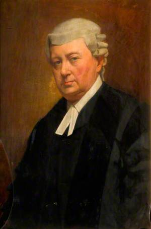 Portrait of a Man with a Wig