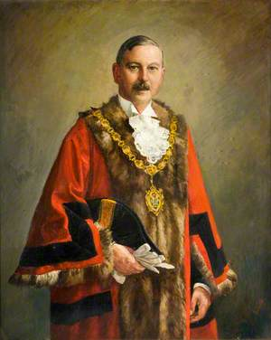Alderman K. H. Wilson, JP, Charter Mayor, Oldbury (1935–1936)