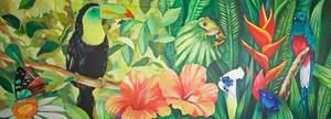 Tropical Bird Frieze