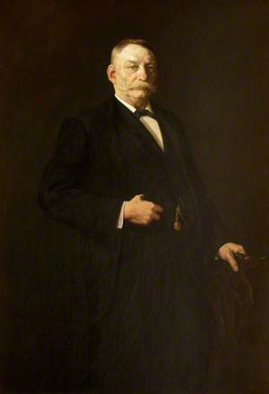 Mr Evan Williams, the Artist's Father