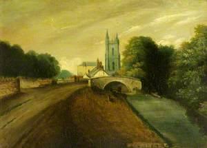 St John's Church (from the Glamorgan Canal, Cardiff)
