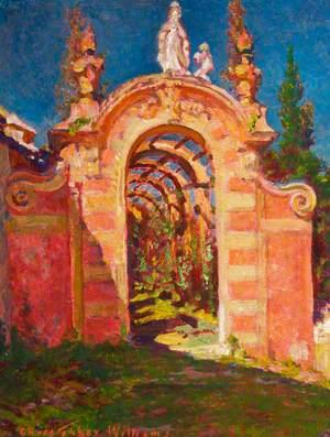 Sunlit Arch, Santa Margherita