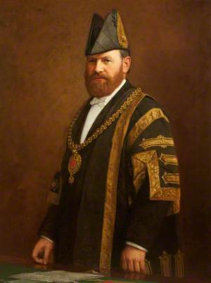 Portrait of an Unknown Lord Mayor