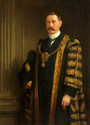 Alderman Dr James Robinson, Lord Mayor of Cardiff (1913–1914)