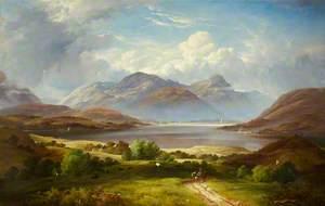 The Holy Loch, Greenock, 1887