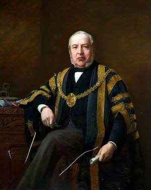 Alderman Daniel Lewis, JP, Mayor of Cardiff (1878–1879)