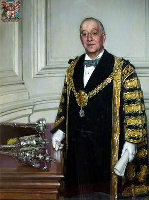 Alderman A. C. Kirk, Lord Mayor and Chief Magistrate of the City of Cardiff (1918–1919)