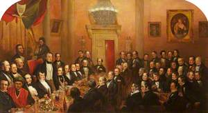 Banquet Given by Marylebone Reformers