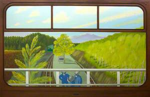 View from a Railway Carriage; Dduallt