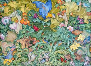 British Empire Panel (16) Decorative Panel