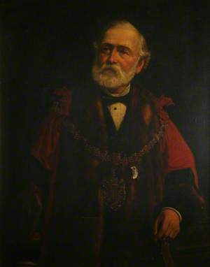 Lawrence Tulloch, JP, Mayor of Swansea