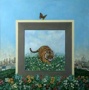 Tiger Mirror Box