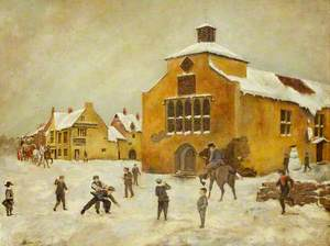The Old Schoolroom, Snow