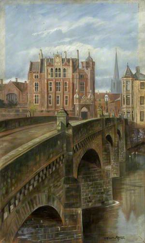 Wye Bridge and Monmouth School