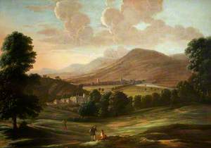 A Panorama of Monmouth with Troy House, c.1672