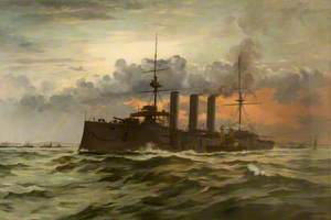 HMS 'Monmouth'