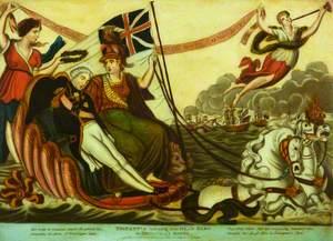 Britannia Bringing Her Dead Hero Ashore