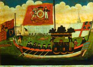Funeral Barge