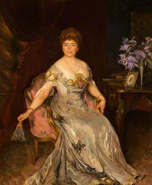 Florentia Maria Crawshay, née Wood (1849–1920)