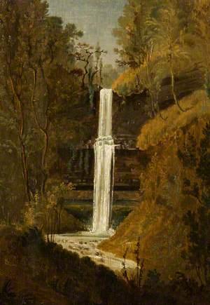 Ysgwd or Scwd Fall, Neath Valley