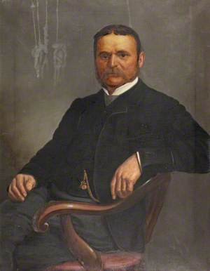 Portrait of a Man Sitting
