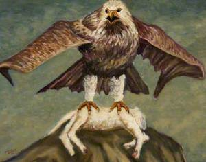 Eagle with Lamb