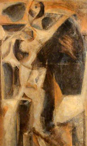 Abstract of a Nude Woman