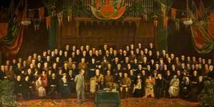 Lloyd George Receiving the Freedom of the Borough of Neath, c.1920