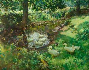 The Stream at Clapper Mill, Lamorna