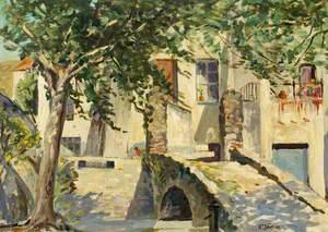 Courtyard, Collioure