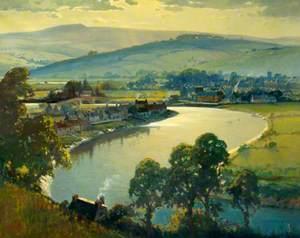 Caerleon from Bulmore Hill