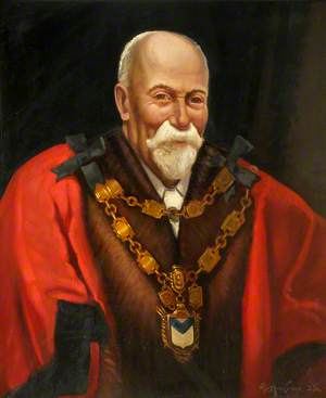 Alderman Edward Davies (c.1850–1926), Mayor of Newport (1922–1923)