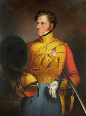 Captain James Leatham, 1st King's Dragoon Guards