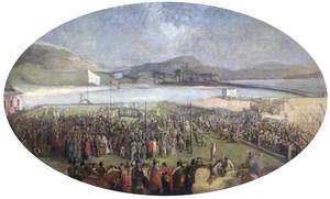 Turning the First Sod, the South Docks