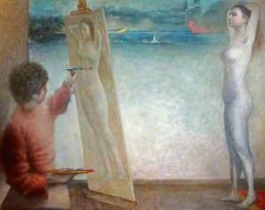 Gwydian Conjuring the Illusion of Blodeuwedd