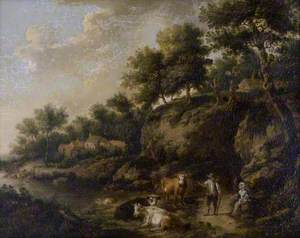 Landscape with a Cowherd