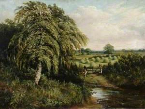 Landscape of Cawthorne Village, South Yorkshire