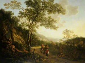 Landscape with Figures, Evening